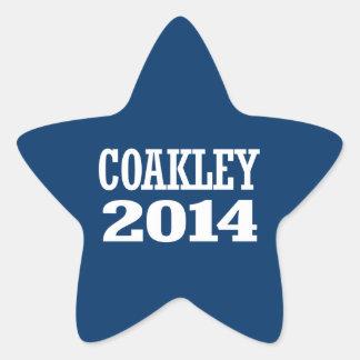 COAKLEY 2014 STAR STICKERS