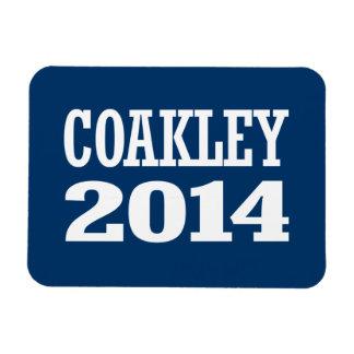 COAKLEY 2014 VINYL MAGNETS