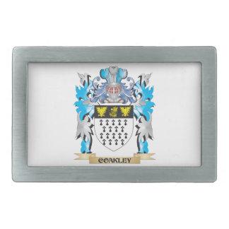 Coakley Coat of Arms - Family Crest Belt Buckles