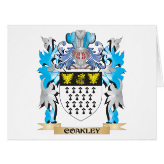 Coakley Coat of Arms - Family Crest Greeting Cards