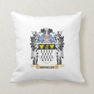 Coakley Coat of Arms - Family Crest Cushions