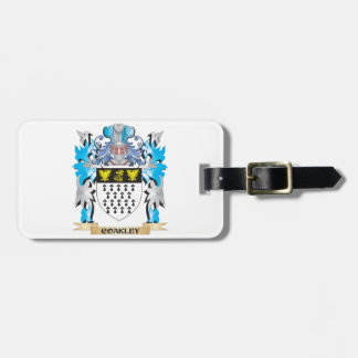 Coakley Coat of Arms - Family Crest Bag Tags