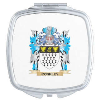 Coakley Coat of Arms - Family Crest Compact Mirror