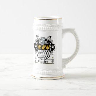 Coakley Family Crest Beer Steins