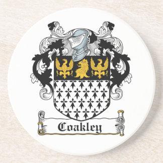 Coakley Family Crest Coaster