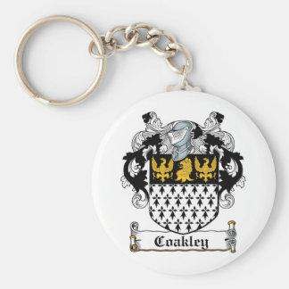 Coakley Family Crest Keychains