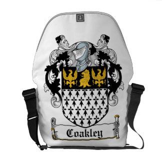 Coakley Family Crest Messenger Bags