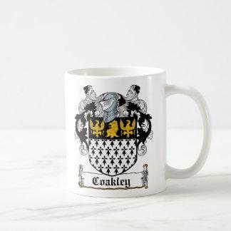 Coakley Family Crest Coffee Mugs
