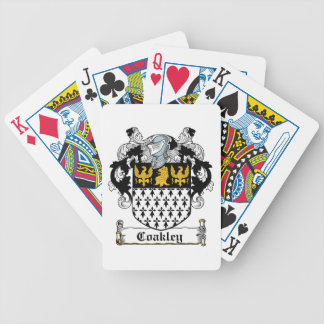 Coakley Family Crest Poker Cards