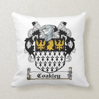 Coakley Family Crest Throw Pillow