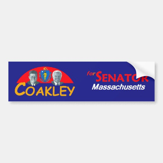 COAKLEY Senate Bumper Sticker