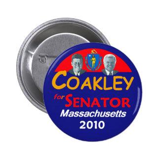 COAKLEY Senate Button