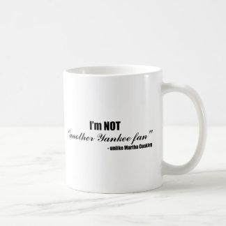 Coakley Yankee Fan Basic White Mug