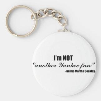 Coakley Yankee Fan Keychain