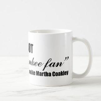 Coakley Yankee Fan Coffee Mugs