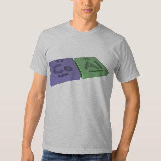 Coal as Co Cobalt and Al Aluminium Tshirt