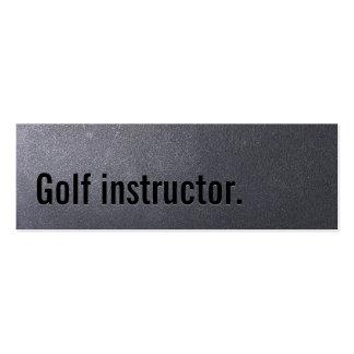 Coal Black Golf Mini Business Card