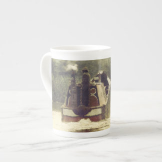 Coal boat on the Ashby Tea Cup