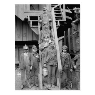 Coal Breaker Boys, 1900 Postcard