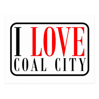 Coal City, Alabama City Design Postcard