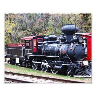 Coal Engine Train Photo Art