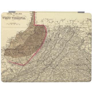 Coal fields in West Virginia iPad Cover