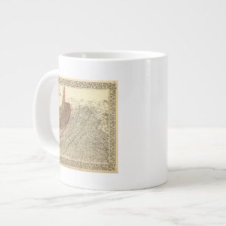 Coal fields in West Virginia Large Coffee Mug