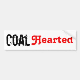 Coal Hearted Bumper Sticker