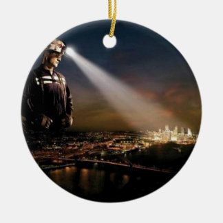 COAL KEEPS OUR LIGHTS ON CHRISTMAS ORNAMENT