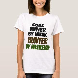Coal Miner Loves Hunting T-Shirt
