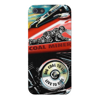 COAL MINER TANK iPhone 5/5S COVER