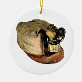 Coal Miner's Cap Christmas Ornament