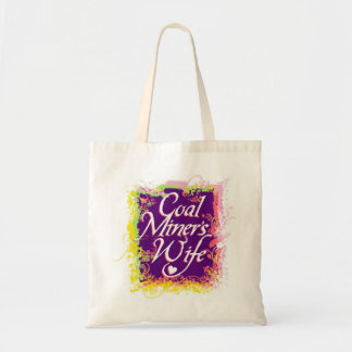 COAL MINER'S WIFE TOTE BAG