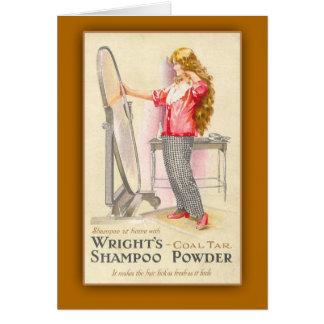 Coal Tar Shampoo Powder Art Cards