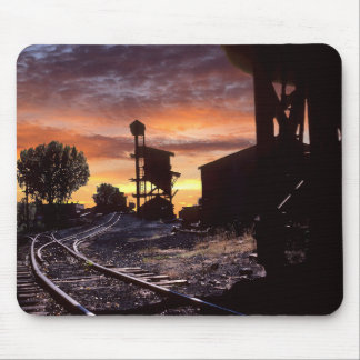 Coal Tipple At Sunset Mouse Pad
