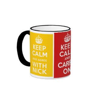 Coalition Government ~ U.K Ringer Mug