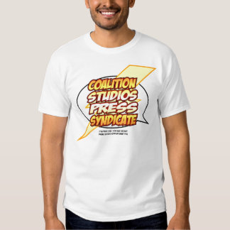 COALITION STUDIOS PRESS SYNDICATE SHIRT!!!! TEES