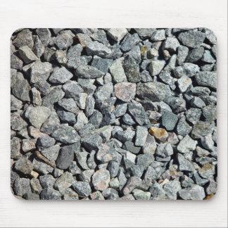 Coarse Granite Gravel Close Up Mouse Pad