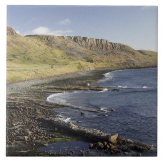 Coast at Duntulm, Isle of Skye, Scotland, United Tile