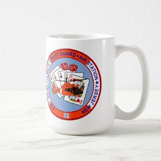 Coast Guard Air Station Atlantic City Basic White Mug