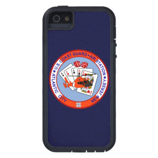 Coast Guard Air Station Atlantic City  Navy Blue iPhone 5 Cover