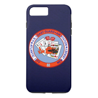 "Coast Guard Air Station Atlantic City ""Navy Blue"" iPhone 7 Plus Case"