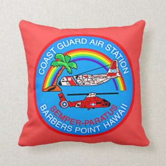 Coast Guard Air Station Barbers Point Hawaii Cushion