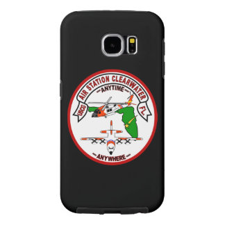 """Coast Guard Air Station Clearwater """"Black Case"""" Samsung Galaxy S6 Cases"""