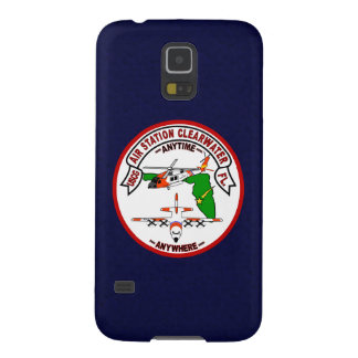 "Coast Guard Air Station Clearwater  ""Navy Blue"" Galaxy S5 Covers"