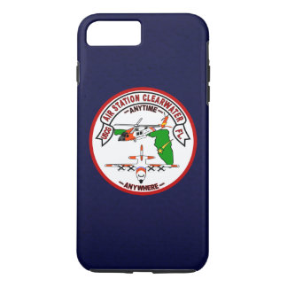 """Coast Guard Air Station Clearwater """"Navy Blue"""" iPhone 7 Plus Case"""