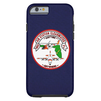 "Coast Guard Air Station Clearwater  ""Navy Blue"" Tough iPhone 6 Case"