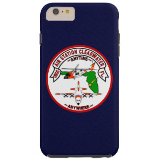 """Coast Guard Air Station Clearwater  """"Navy Blue"""" Tough iPhone 6 Plus Case"""