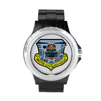 Coast Guard Air Station Detroit Wrist Watches