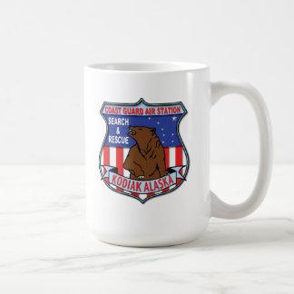 Coast Guard Air Station Kodiak Alaska Basic White Mug